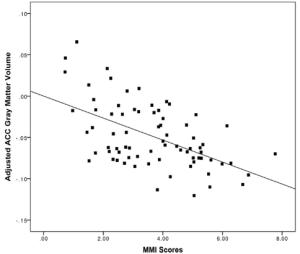 Graph MMI / ACC volume