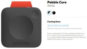 pebble core photo