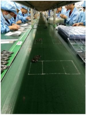 Jelly production line