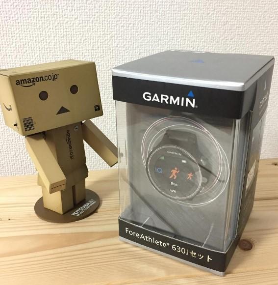 やってもた GARMIN ForeAthlete 630J