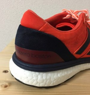 photo Adidas Adizero Boston boost 2 heel