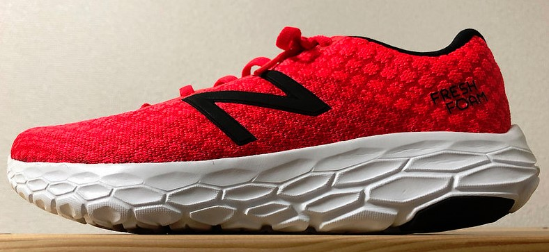 Runcas180 2018/08/23  New balance BEACON 受け取ってきた