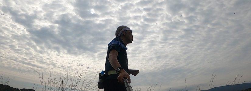 772_2021/10/16 由良川堤防2周 10.7km